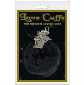 LOVE CUFFS, BLACK