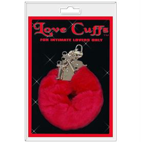 LOVE CUFFS, RED