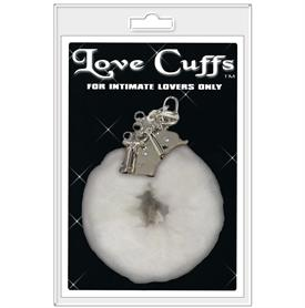 LOVE CUFFS, WHITE